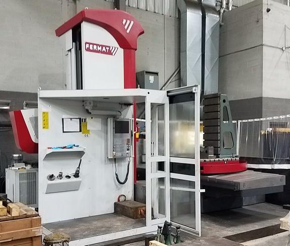 "Fermat WFC 11 4.33"" CNC Table Type Horizontal Boring Mill,   HEIDENHAIN 530 CNC CONTROL,   BUILT IN B-AXIS ROTARY TABLE ,   THROUGH SPINDLE COOLANT,   SPINDLE MOTOR 	26 HP / 38 HP,  New 2016 