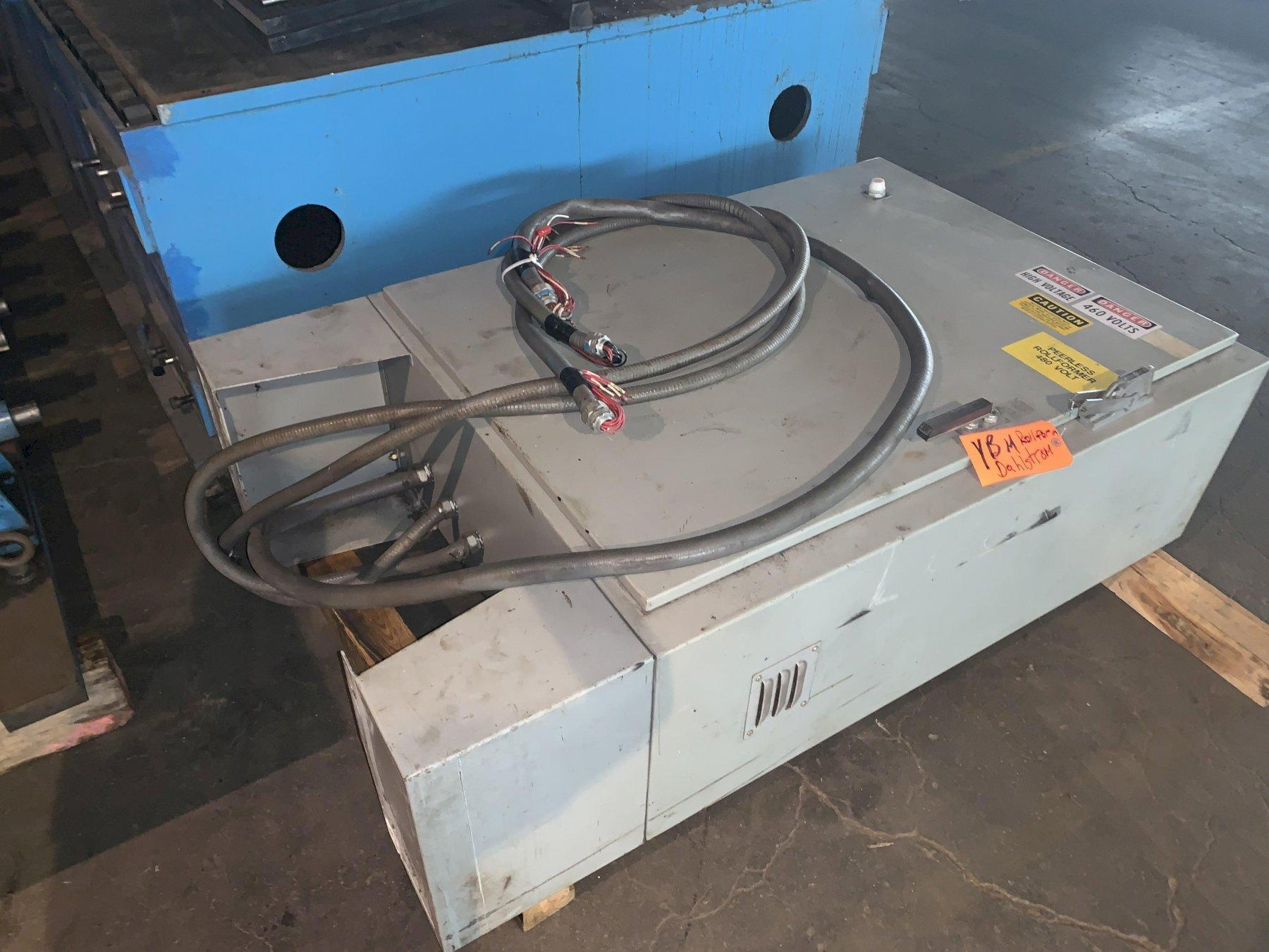 """24 Stand x 2"""" x 18"""" Dahlstrom Rafted U-Joint Drive Rollformer with 24 Additional Rafted Heads"""