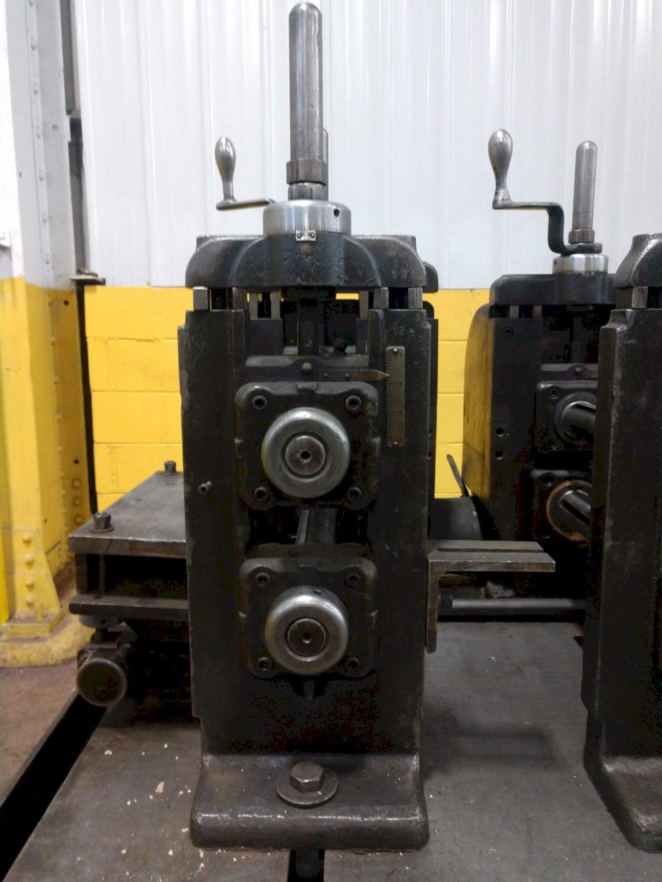 """14 STAND X 2"""" X 12"""" YODER M2 ROLLFORMER. STOCK # 0635021"""