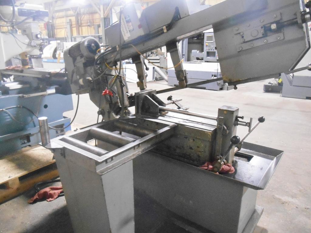 Hyd-Mech Model S-20 Horizontal Band Saw with Miter Cutting Capability