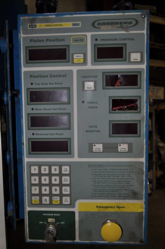 100 Ton Greenerd Hydraulic Press