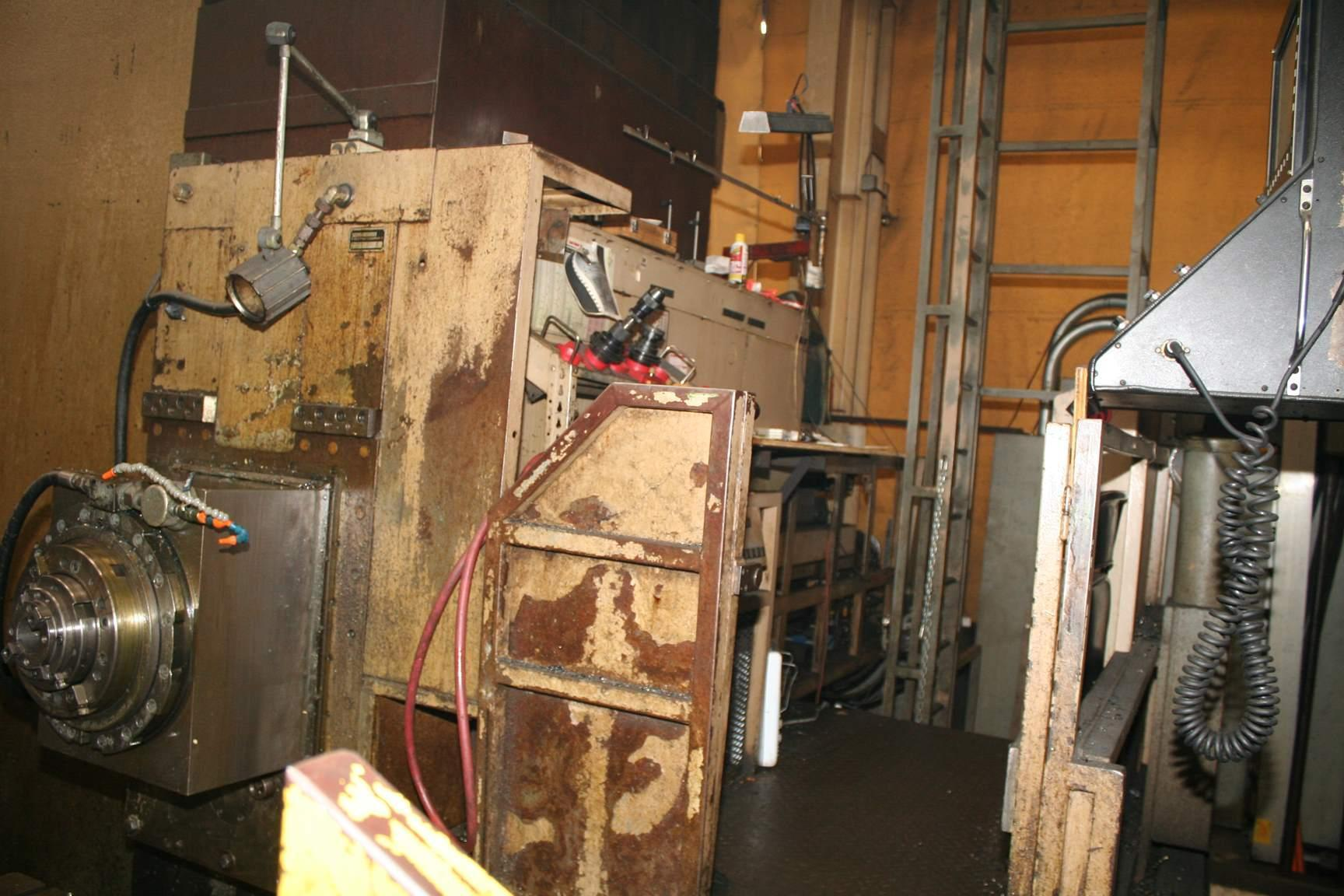 8.78' SCHARMANN FLOOR TYPE HORIZONTAL BORING MILL: STOCK #69635
