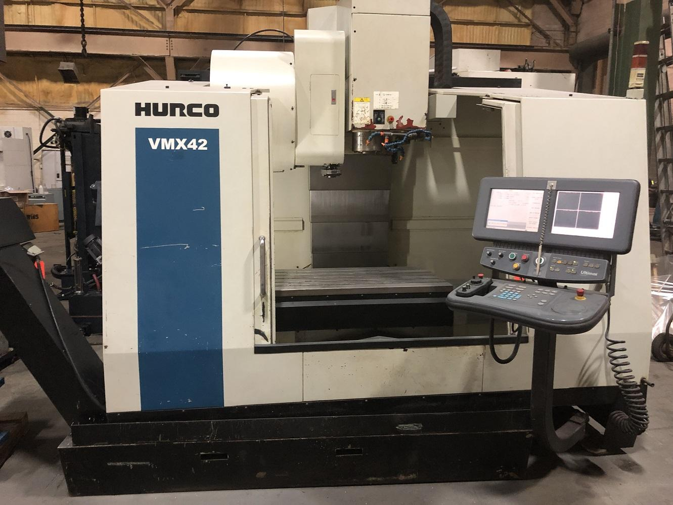 Hurco VMX42 CNC Vertical Machining Center w/WinMax Control, 10K Spindle, 42