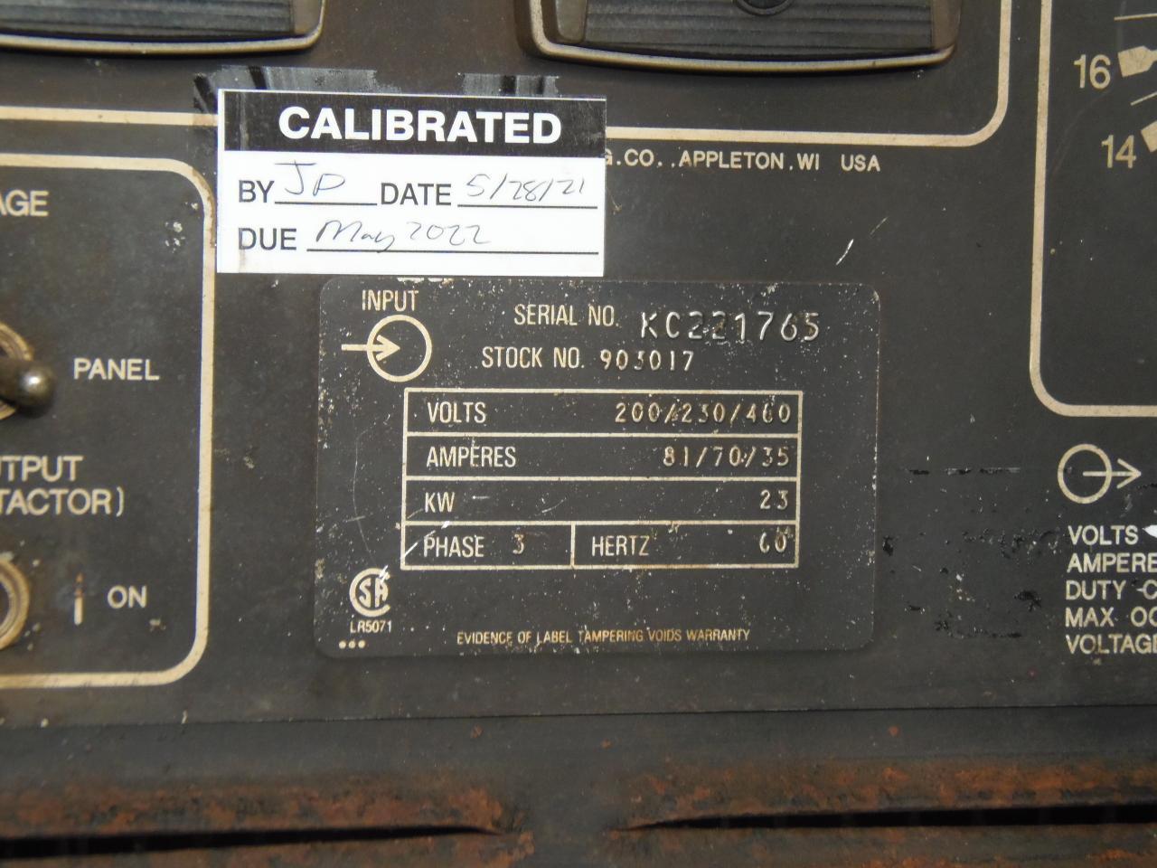 Miller 450 Amp Wire Feed Welder, Model Deltaweld 451 with D64 feeder