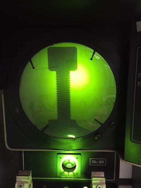 "20"" OGP Model QL20S Floor Model Optical Comparator, S/N QL200180."