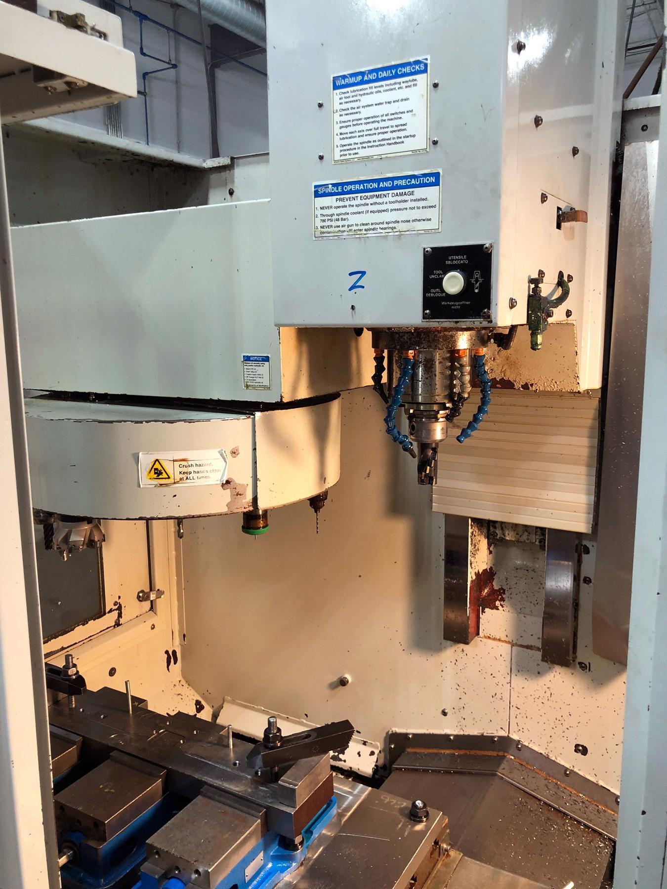 USED, MILLTRONICS MODEL RW15 SERIES C CNC VERTICAL MACHINING CENTER