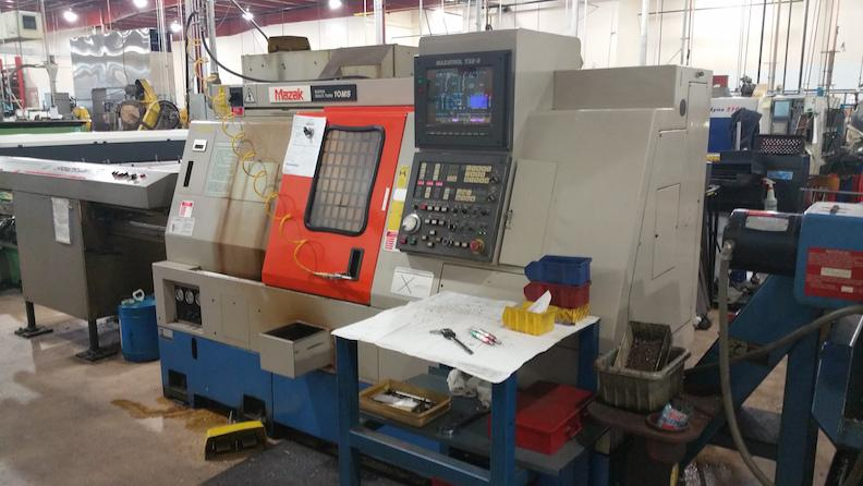Mazak SQT-10MS CNC Turning Center with Live Tools and Subspindle