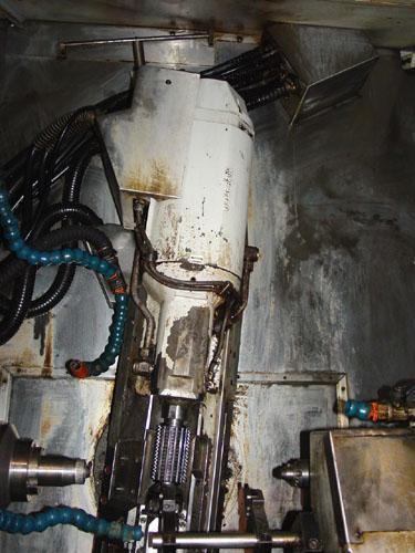 """Gleason Pfauter P 60 CNC, Siemens 840C CNC Control, 2.56 Max. Hob Dia., 4.25"""" Max Geared Length, 2001."""
