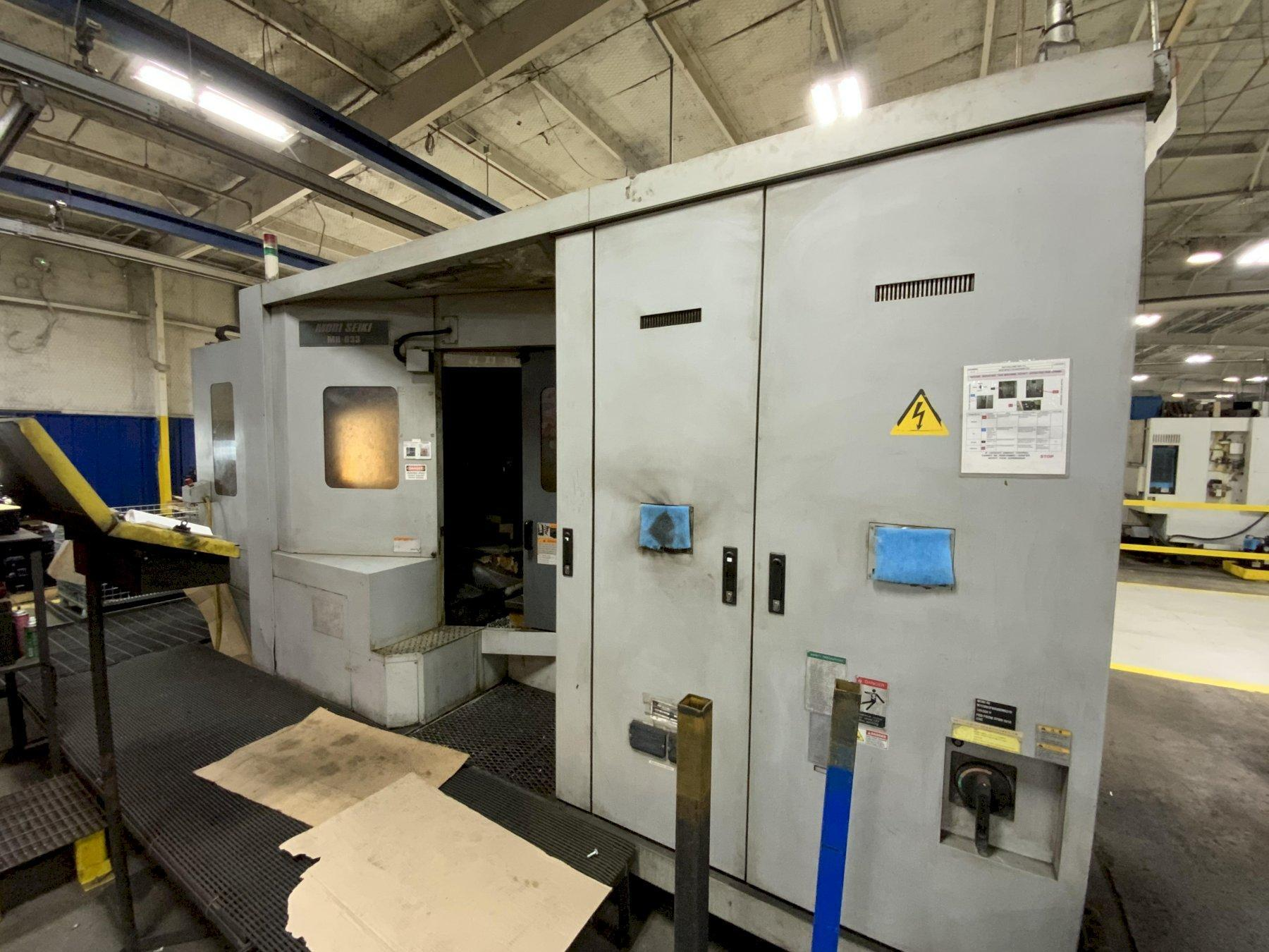 MORI SEIKI MH-633 HORIZONTAL MACHINING CENTER: STOCK #14641