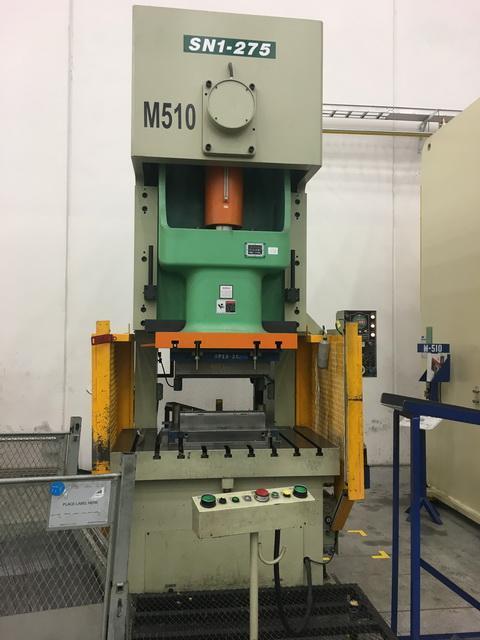 275 Ton SEYI SN1-250 Gap Press