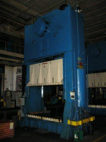 350 Ton Danly SS2-350-96-60 Straight Side Press