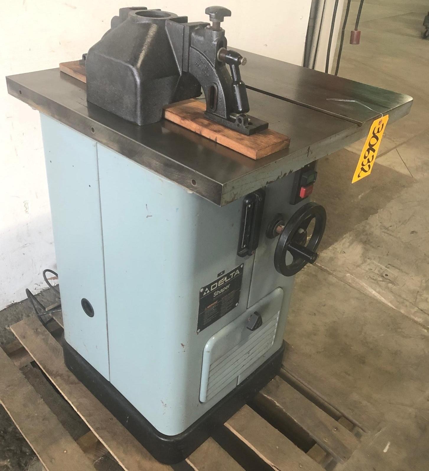 Delta Wood Shaper, Model 43-375, 3 HP, 1 Phase