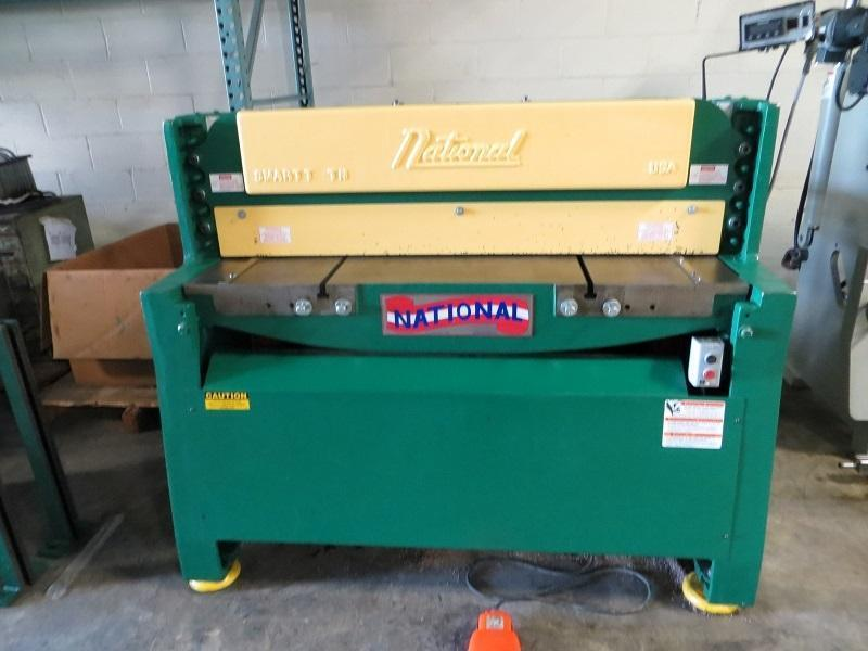 "1/4"" x 4 ft, National Hydraulic Power Shear Model NH4825"