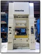 Komatsu E2M-300 Straight Side Press, Used