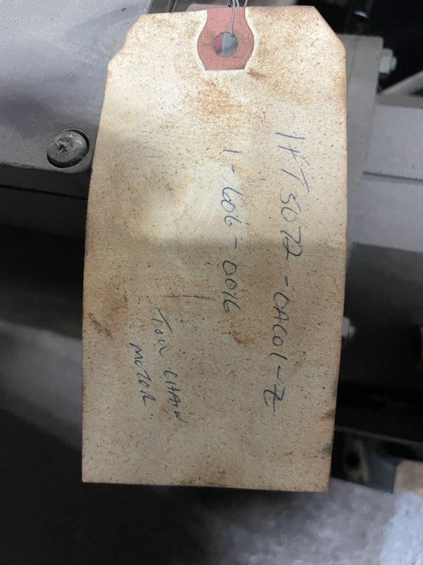 SIEMENS SERVO MOTOR CMI# 1-606-0016,  1FT5072-0AC01-Z