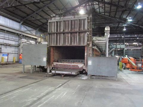 50' Olson Industries Car Bottom Furnace Year 2011