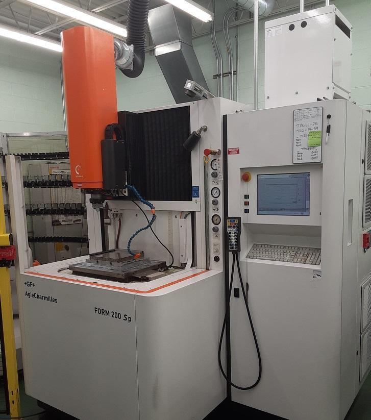 Charmilles Form 200sp CNC Sinker EDM with C Axis