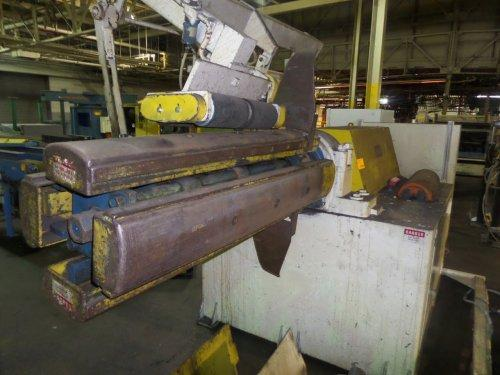 20000 Lbs. Rowe Coil Reel and Straightener