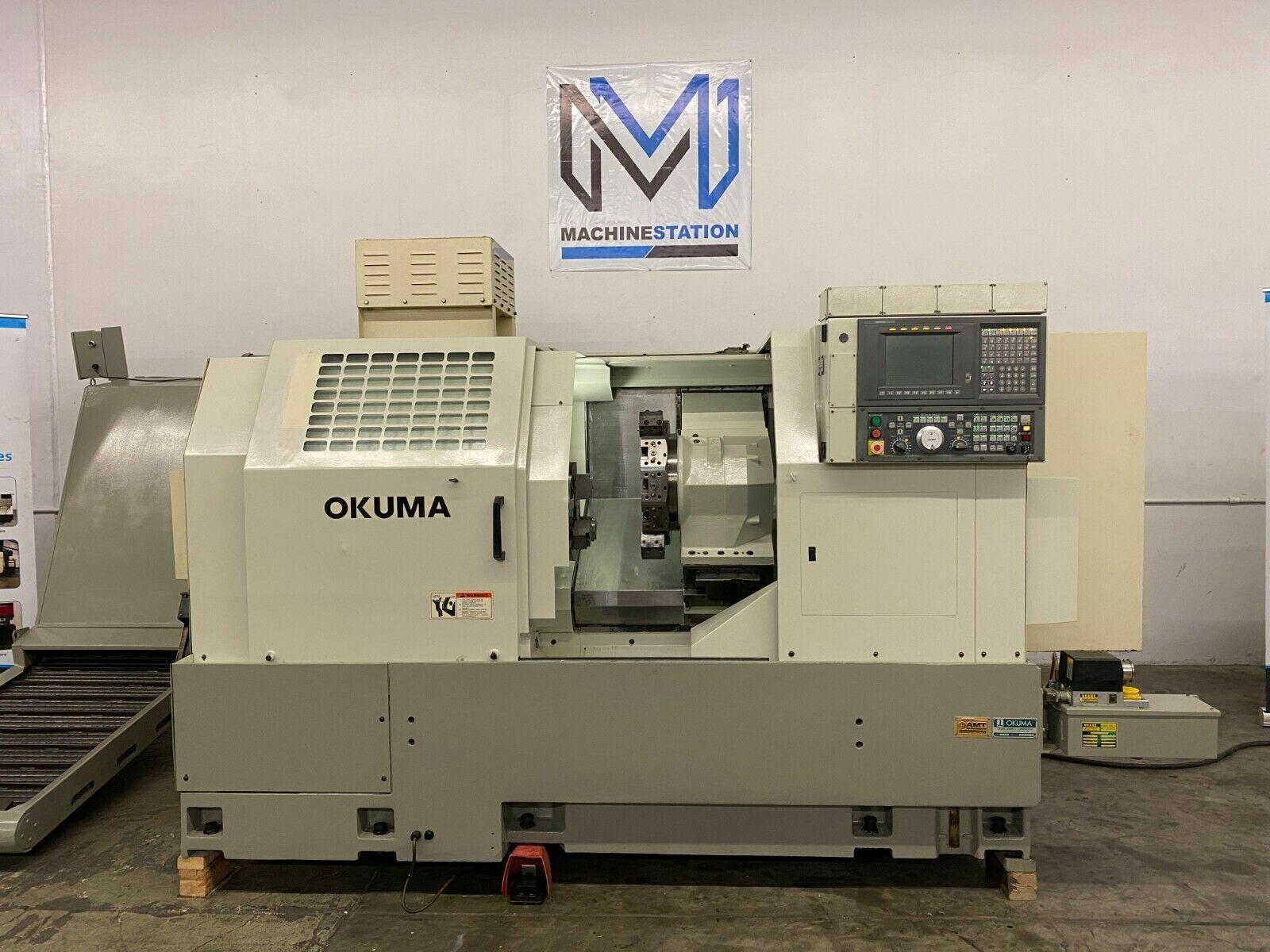 OKUMA CADET LNC10 L1420 CNC TURNING CENTER