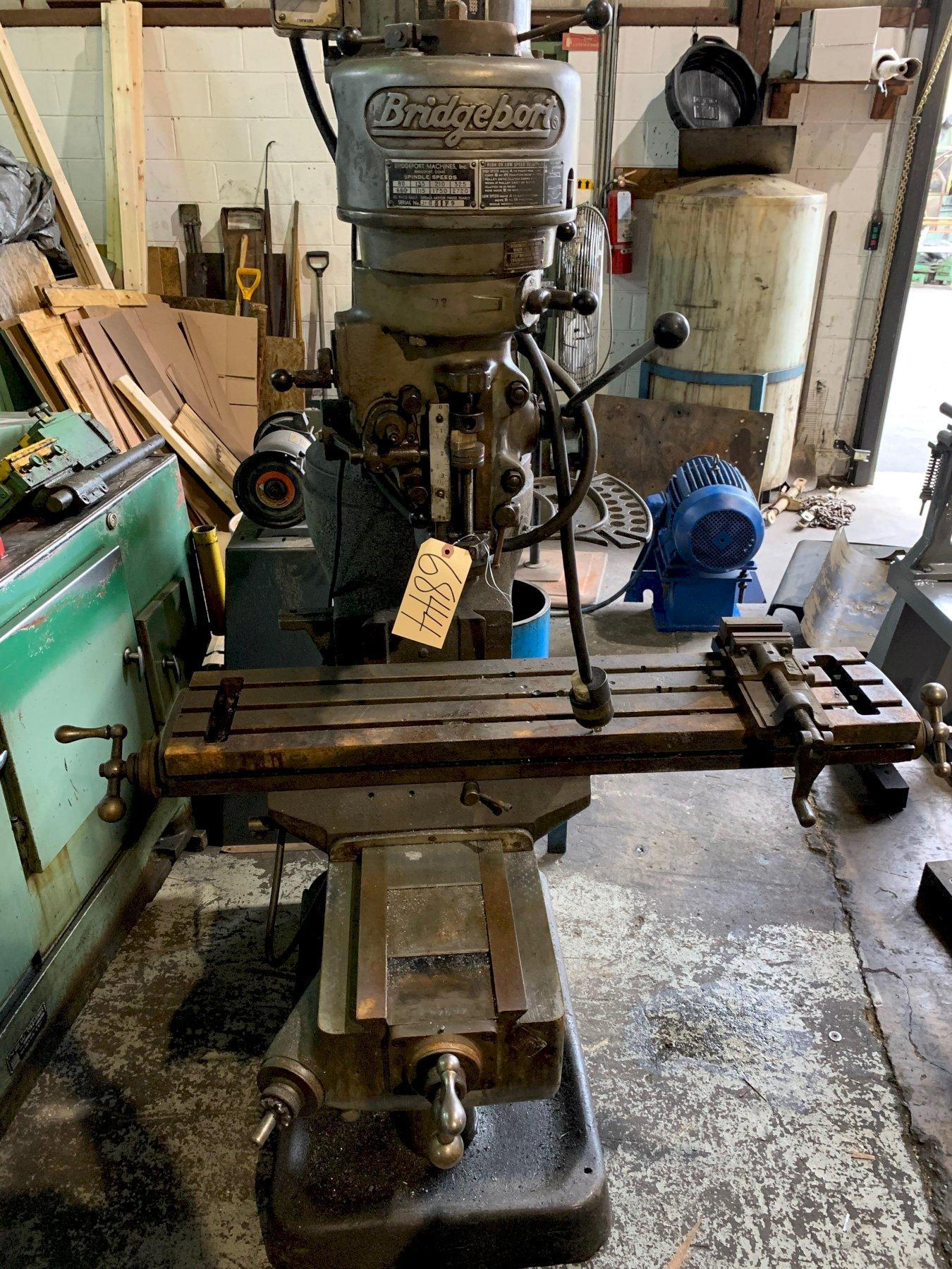 Bridgeport J Head Milling Machine