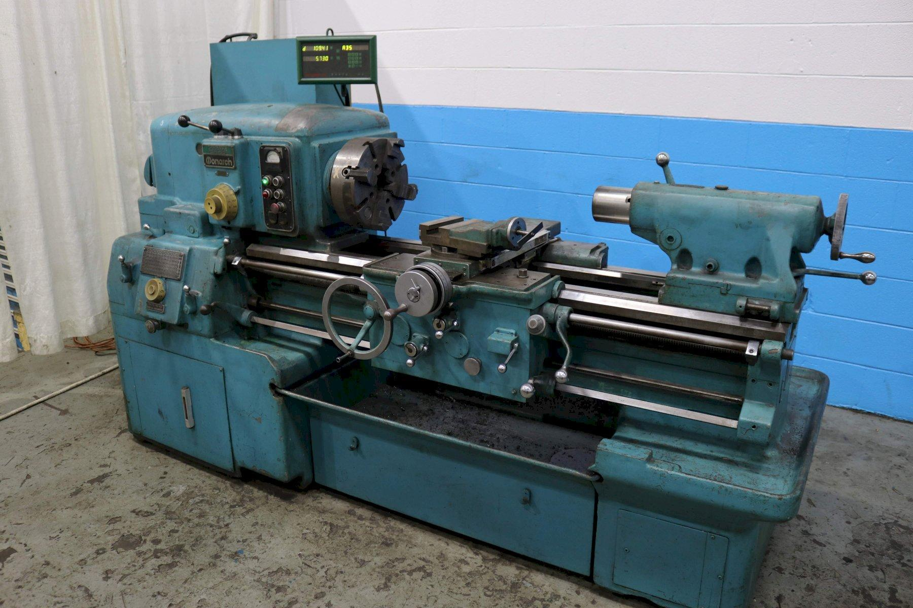 MONARCH ENGINE LATHE: STOCK #73618