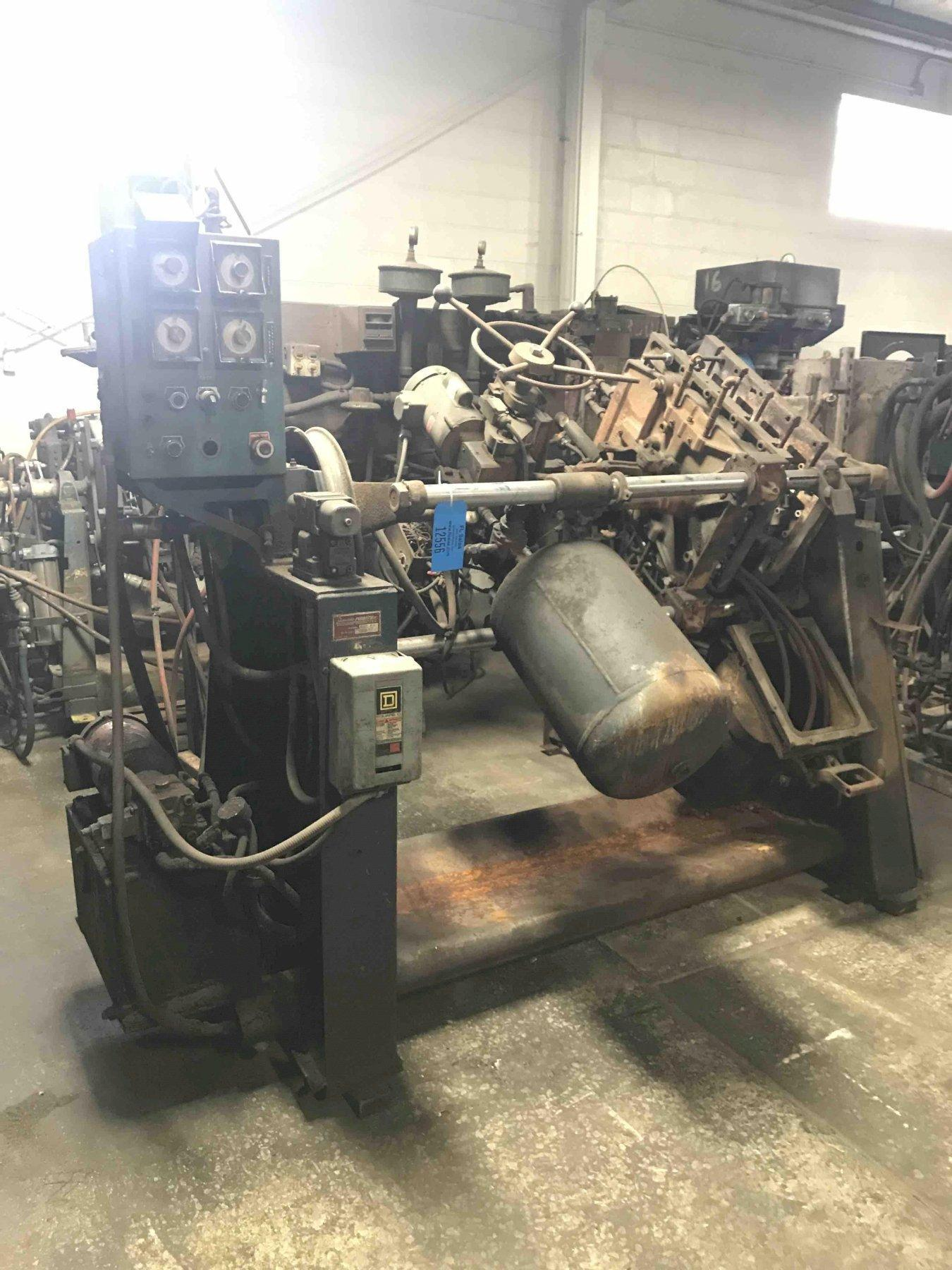 Dependable model 400sa shell core machine s/n 129 with gas panel