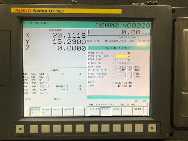 2011 SAMSUNG MCV50 - Vertical Machining Center