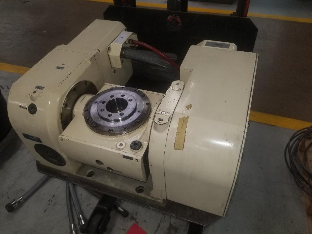 Tsudakomo TN-161 CNC (5) Axis Rotary Table with Fanuc Motors (2) Available