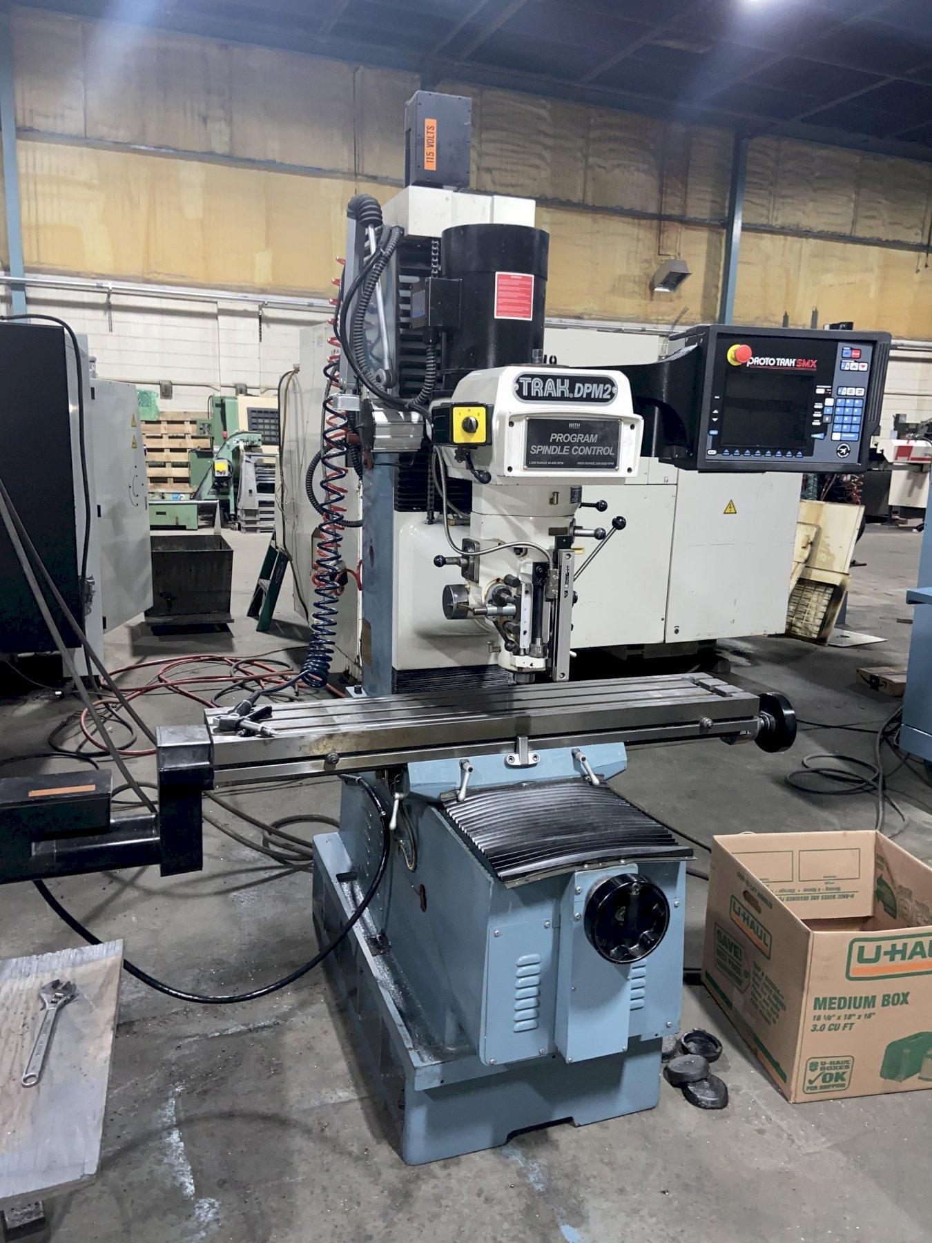 Southwestern Industries DPM2 CNC Mill, Prototrak SMX Control, 9
