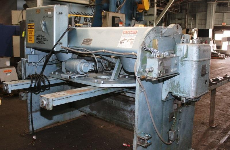 10 Ga x 6 ft Cincinnati Mechanical Power Shear Model 1006-R