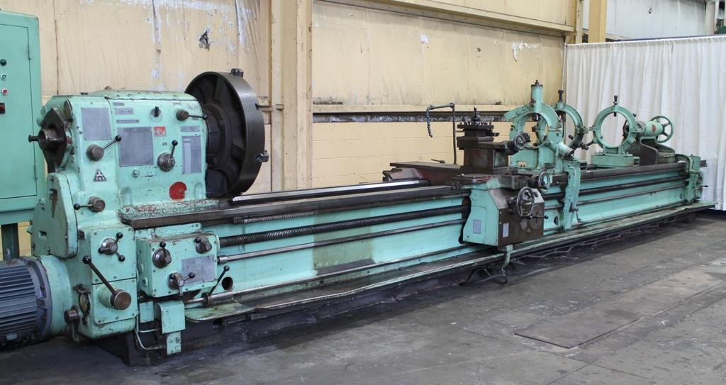 "36"" X 255"" TOS ENGINE LATHE: STOCK #10905"