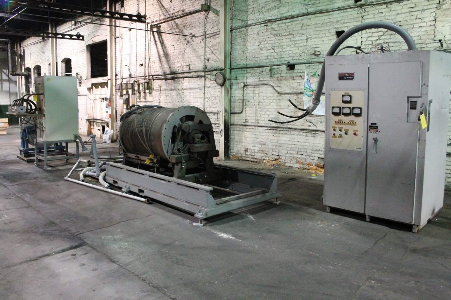 TOCCO INDUCTION HEATER TEMPERING LINE: STOCK #65770