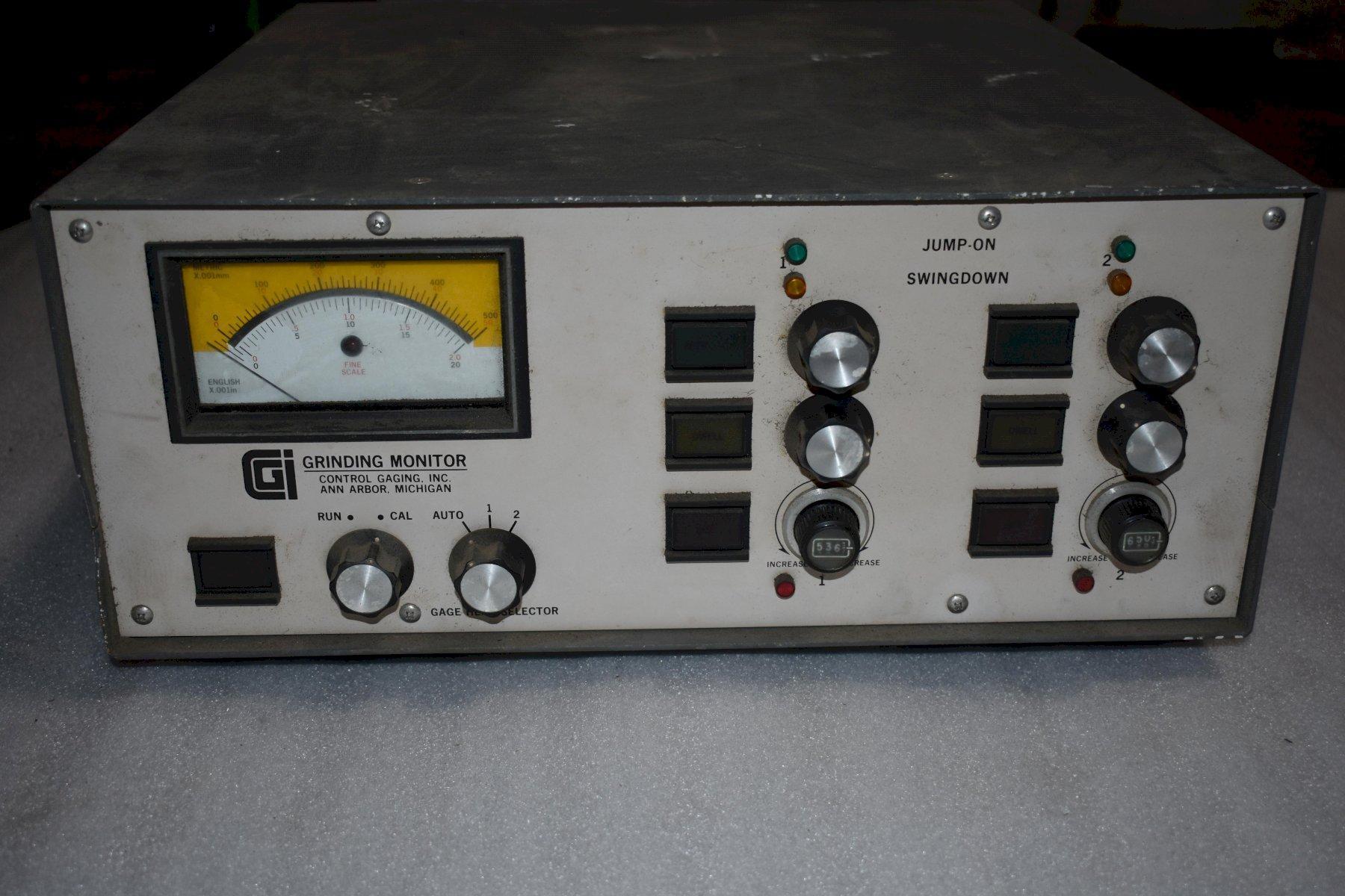 Control Gaging Inc Grinding Monitor, Model 801N-310AD-22MG, Part # 042106.