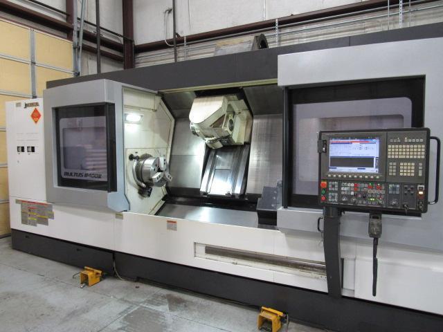 Okuma Multus B400W X 2000 II Big Bore CNC Multi-Tasking Center (2012)