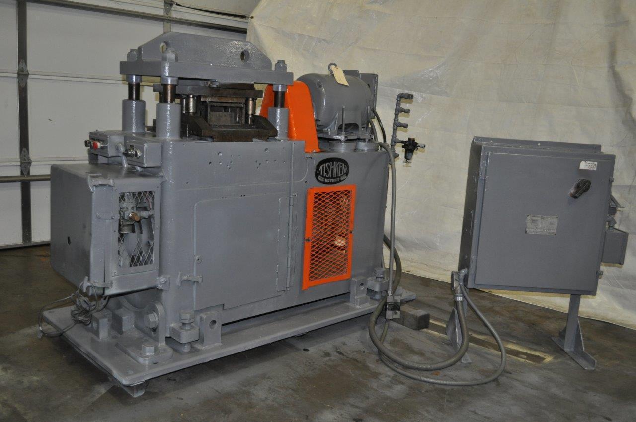 50 ton Tishken Cut Off Press