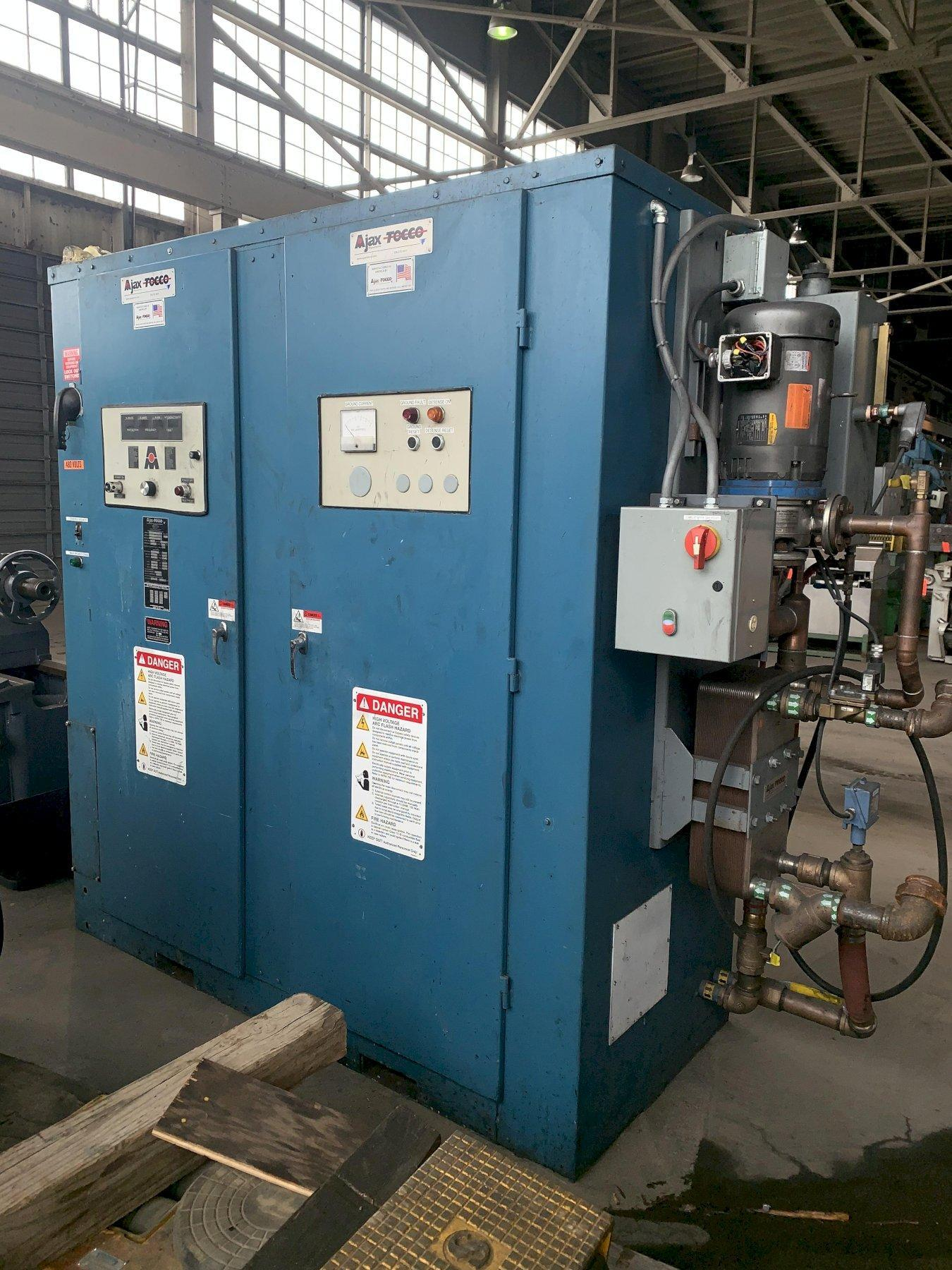 500 KW AJAX TOCCO PACER 1 BILLET INDUCTION HEATER: STOCK #14409