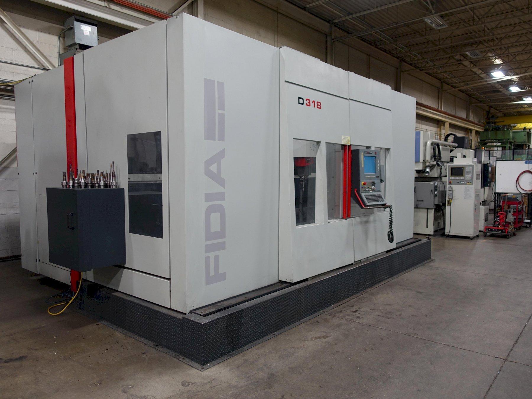 FIDIA D318 CNC VMC