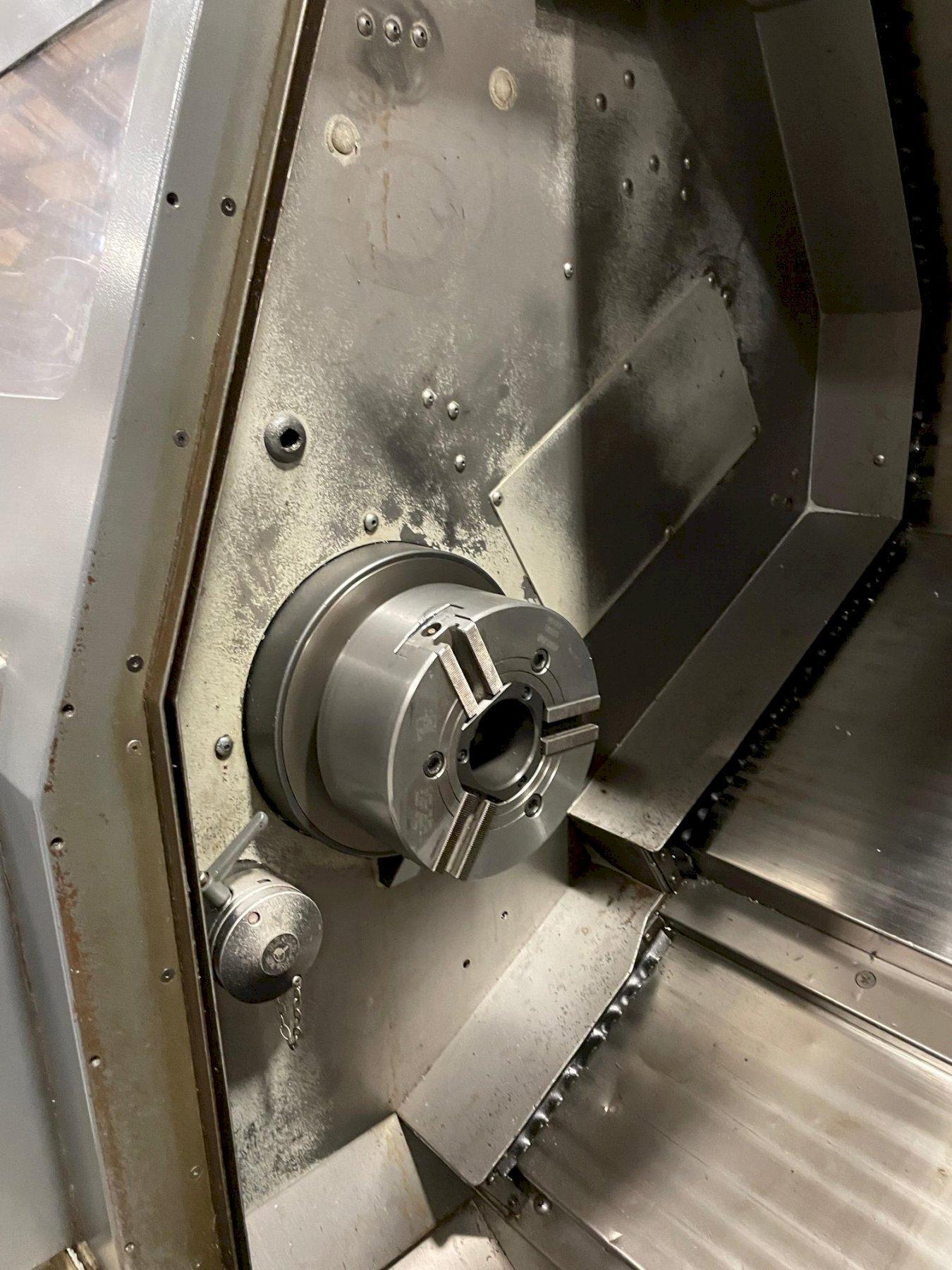 Mori Seiki SL-204SMC Horizontal CNC Lathe