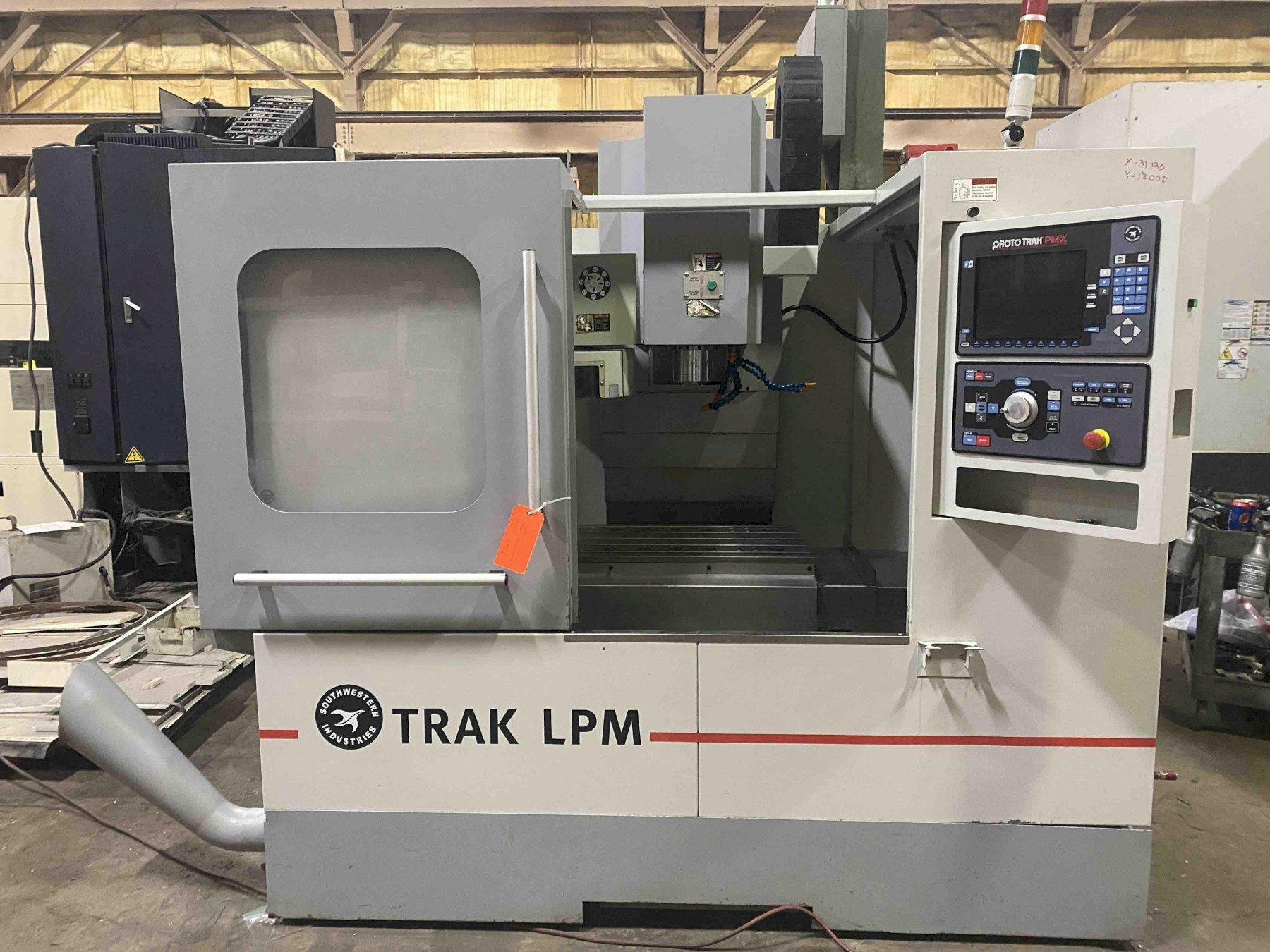 Southwestern Industries LPM CNC Vertical Machining Center, Prototrak PMX, 31