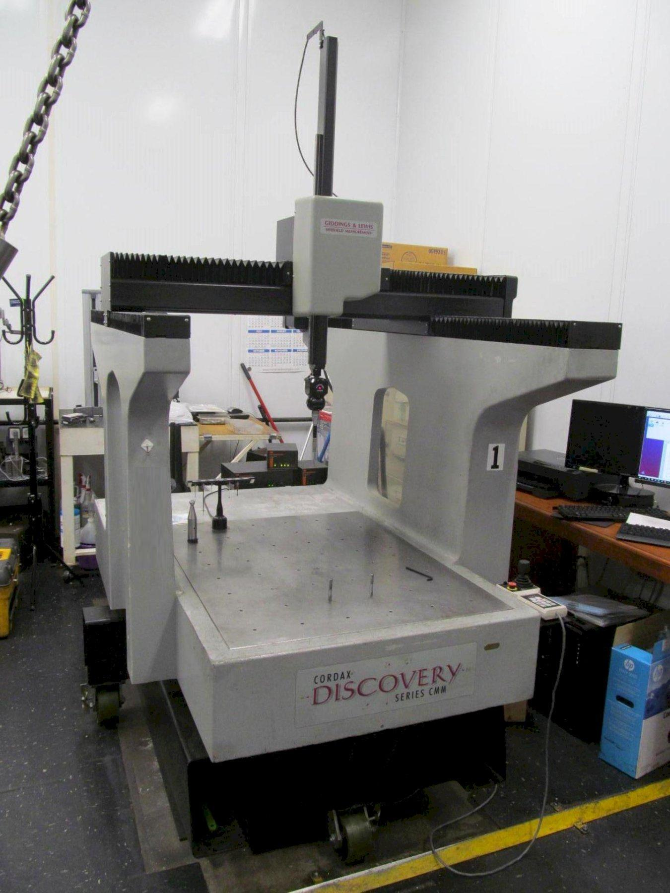 Sheffield Discovery D28 Coordinate Measuring Machine (CMM)