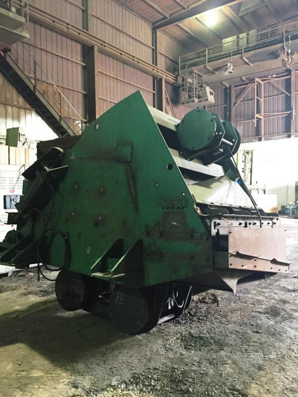 G/K MODEL VM120 LUMP CRUSHER S/N C3007-1 WITH DRIVE