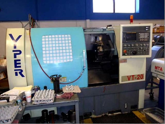 Mighty Viper VT-20 Two Axis CNC Turning Center