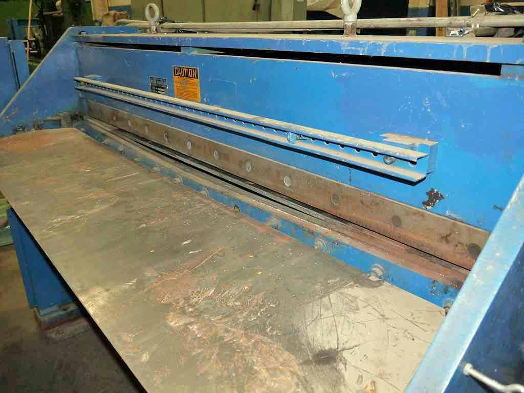"0.075"" x 5' Famco Cut To Length Shear"