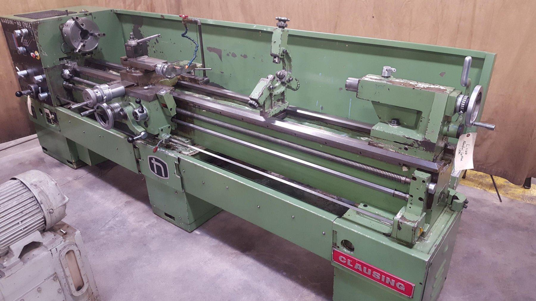 "17"" x 85"" Nardini Model ND1785 Gap Bed Lathe"