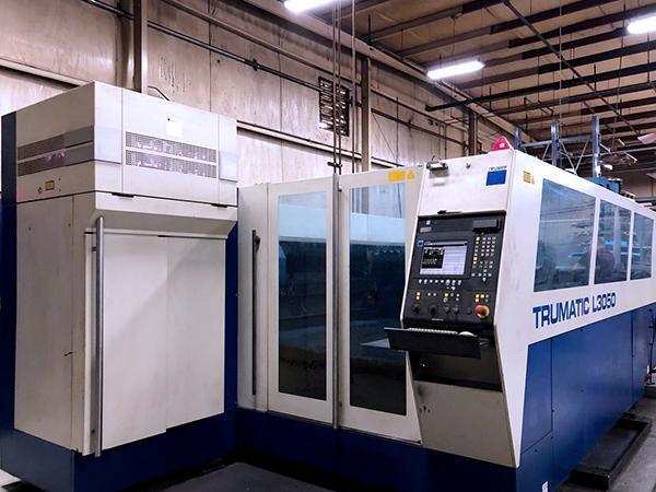 Trumpf Trumatic L3050 6,000 Watt CO2 Laser