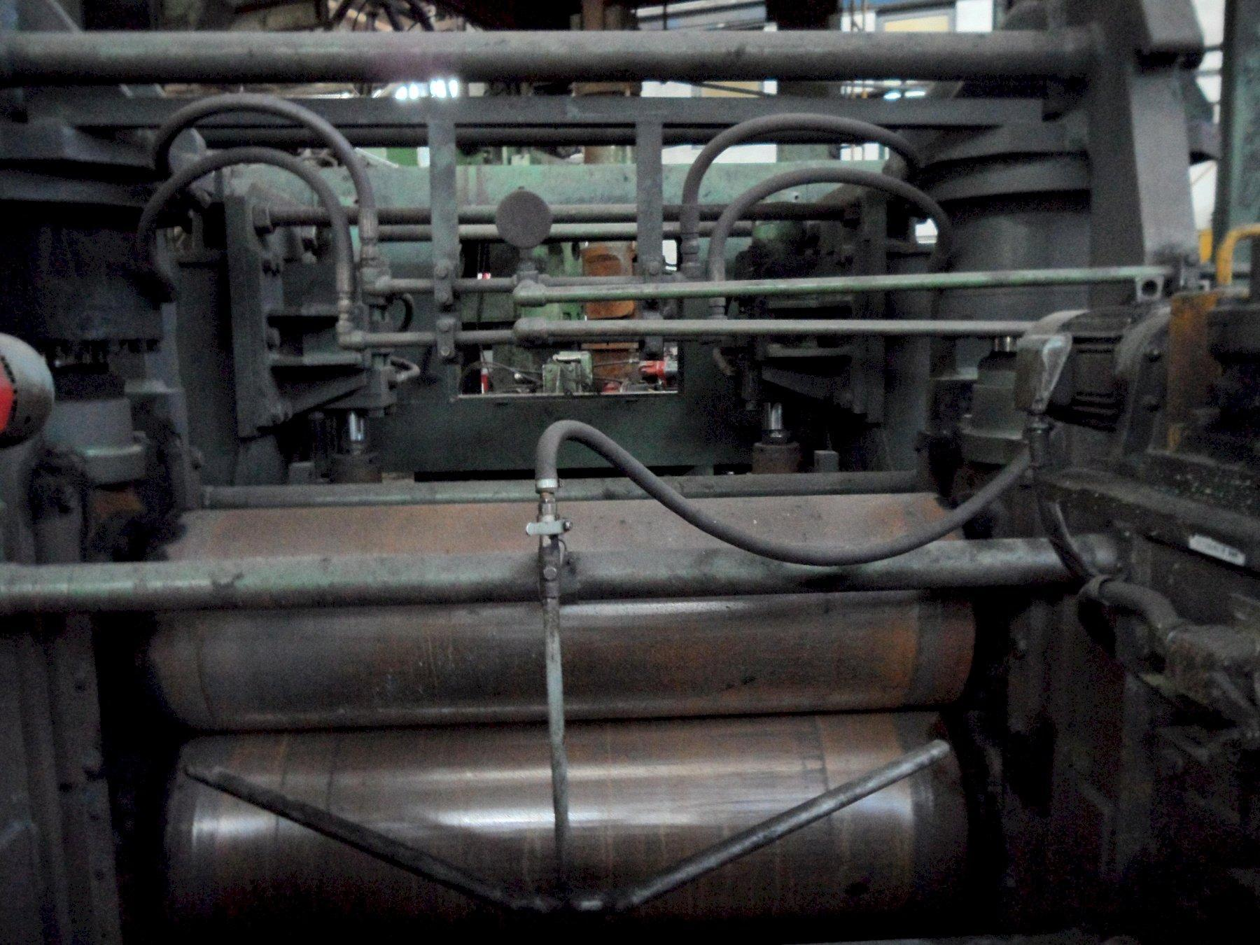 """64"""" (1626mm) x 23mm API Spiral Pipe Mill with Finishing Floor Year 1998"""