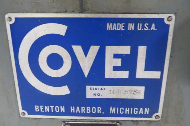 Covel Used Surface Grinder, 480V