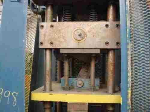 "15 Ton x 2"" Tishken 4 Post Air Cutoff Press"
