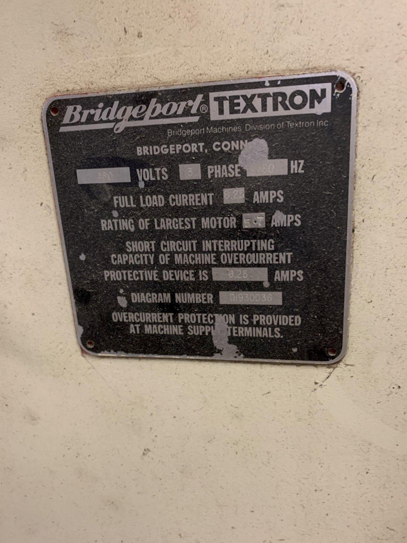 Bridgeport Series II Special 2 HP Variable Speed Vertical Mill