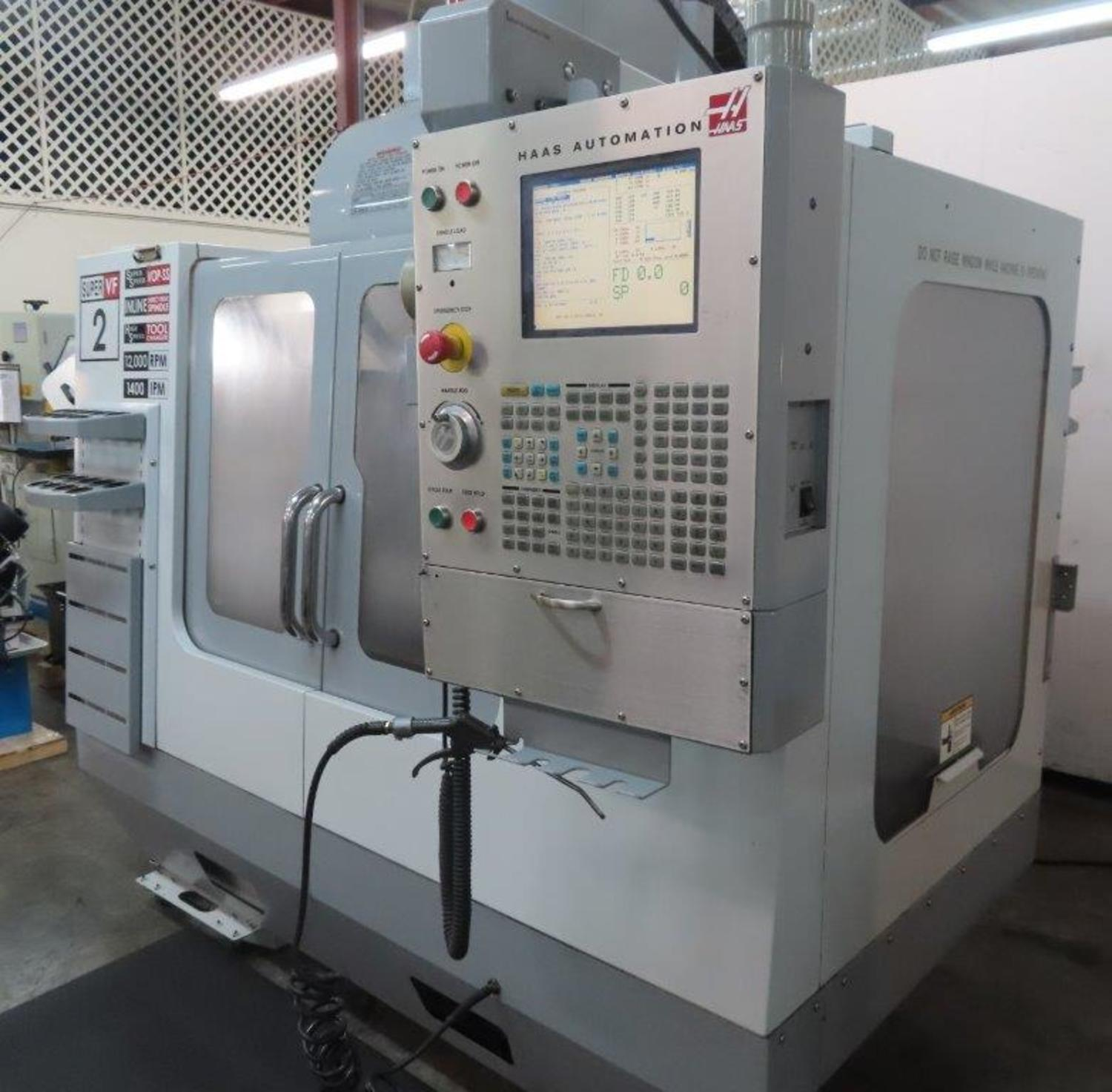 HAAS MODEL #VF-2SS CNC VERTICAL MACHINING CENTER: STOCK 14517